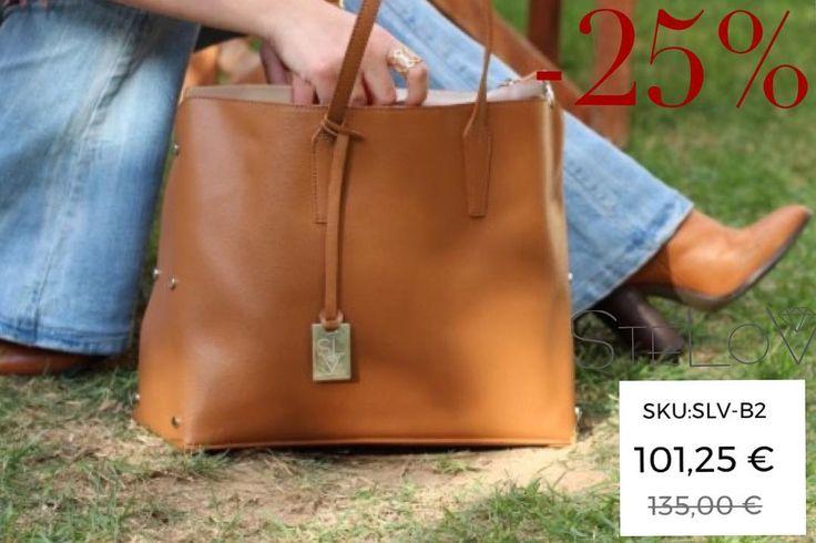 WEEKEND SALE!!! Leather tote bag!!!!Hurry up!! #stelov #slv #jewelry #accessories #leather #totebag #weekendsales #shoponline #worldwideshipping