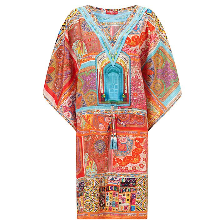 Buy Ruby Yaya Corbu Sayonara Tunic Dress, Multi, S Online at johnlewis.com