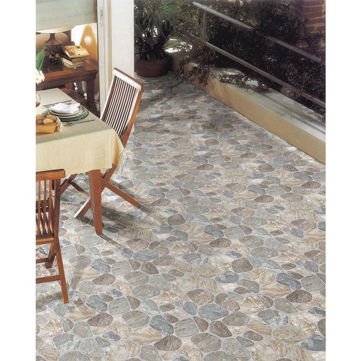 Shop Floors 2000 5 Pack Teras Grey Glazed Porcelain Indoor