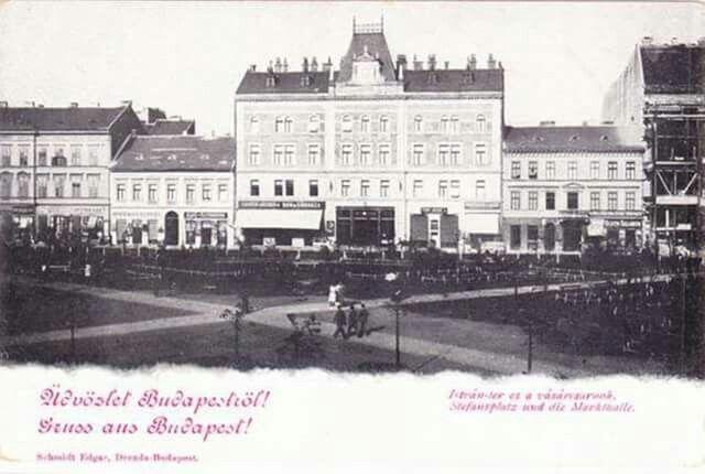 1898 Klauzál (István) tér