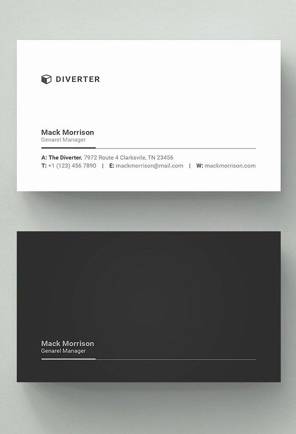 Simple Business Card Design Awesome 25 New Professional Business Card Templates Business Cards Layout Business Card Design Simple Graphic Design Business Card