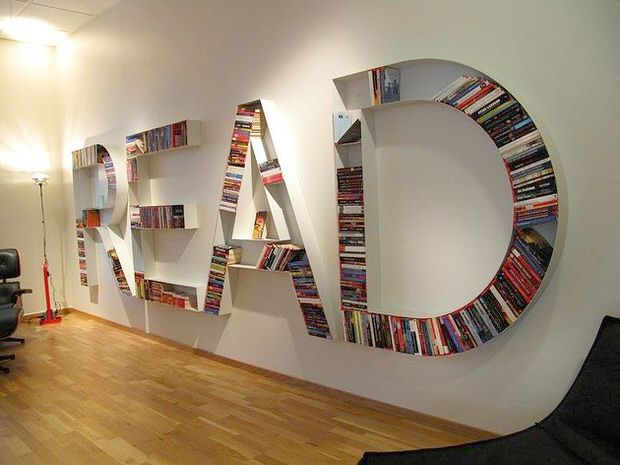 Creative bookshelves for you home learning spaces