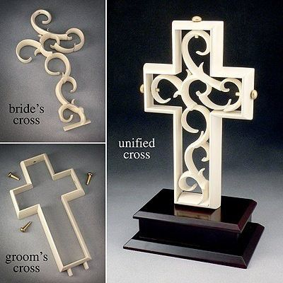 The Unity CrossR Is A Multi Piece Sculpture That Assembled By Bride