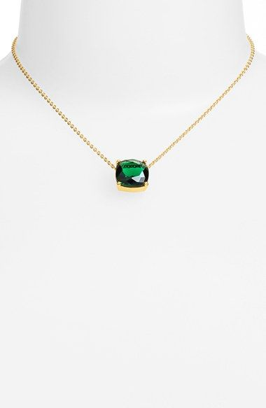 kate spade new york 'cause a stir' stone pendant necklace available at #Nordstrom