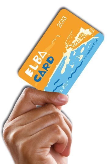 Elba card one family, one card for €20.-