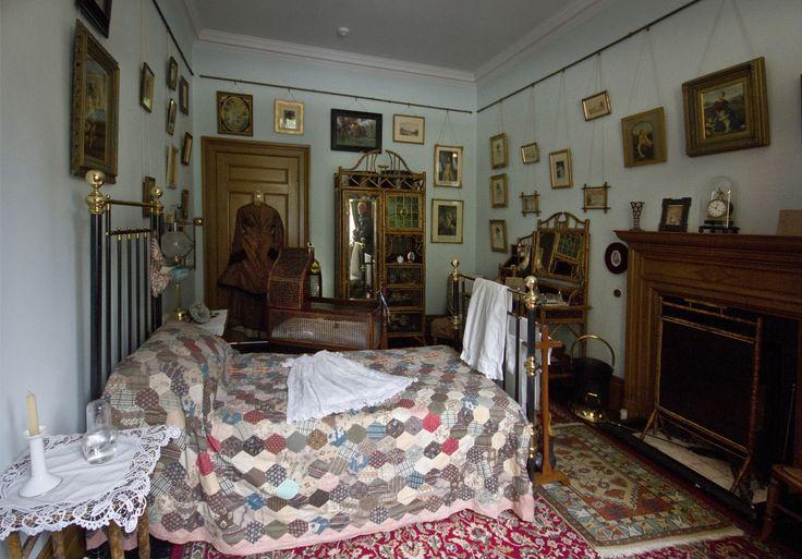 няни спальня, Lanhydrock, Cornwall