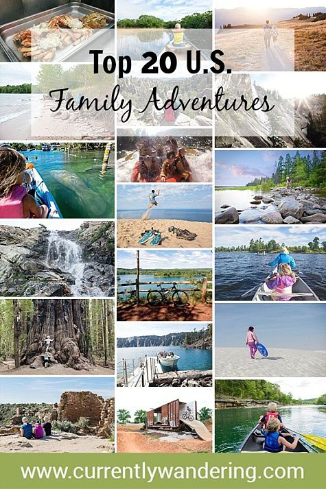 For three years, our family has explored the United States while traveling full time in our Airstream trailer. Check out our Top 20 Adventures to get ideas for your upcoming vacation with your loved ones!