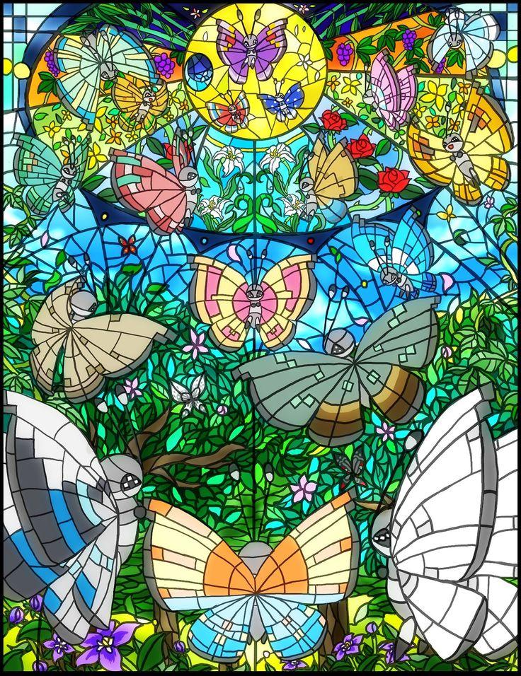 Vivillon Pokemon Pinterest Curtidas