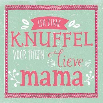 Moeders nemen een belangrijke plek in je leven in! Van moeder tot aan tante en…
