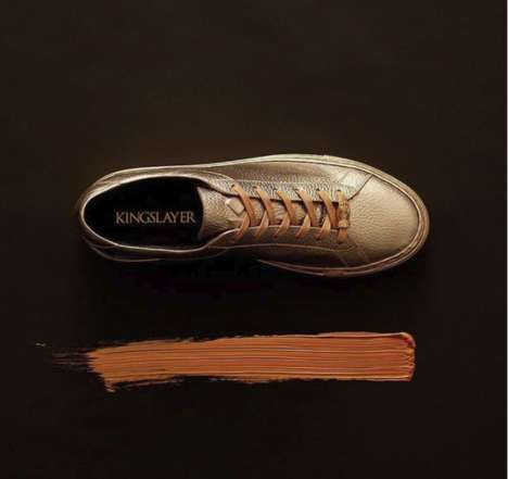 'The Kingslayer' Was Inspired by Game of Thrones   The New York-based footwear designer KOIO has collaborated with HBO to create a pair of shoes inspired by the network's most popular series – Game of Thrones.  The sneaker is called The Kingslayer, named after Jaime...