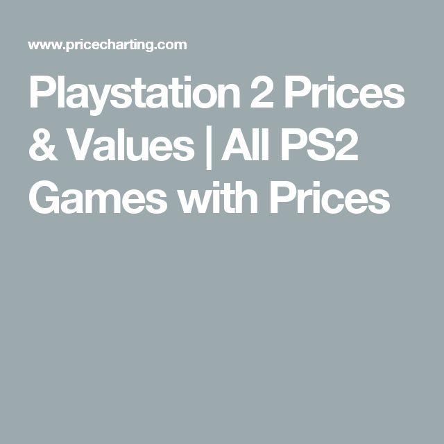 Playstation 2 Prices & Values | All PS2 Games with Prices