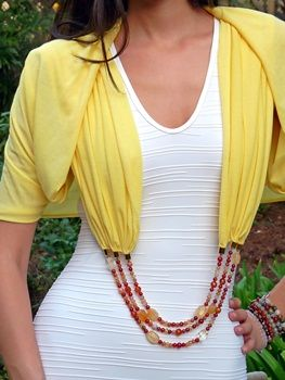 Infinity Scarf Necklace - Shawl