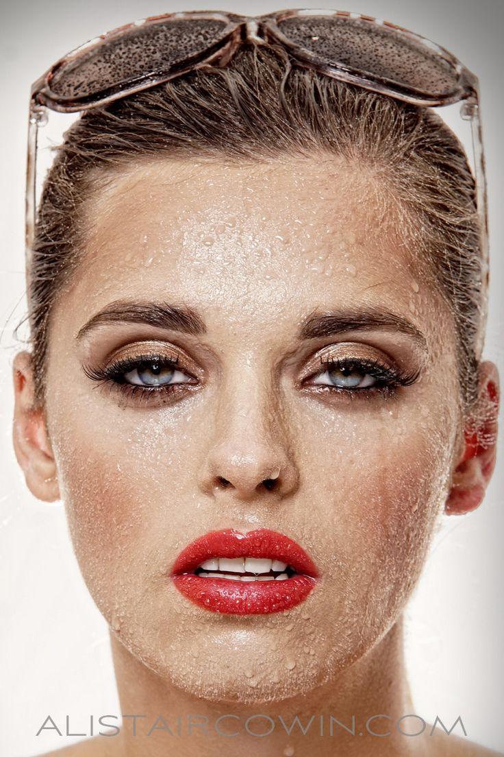 Beauty photo fro model's Portfolio.  Make up by Chloe Bradley