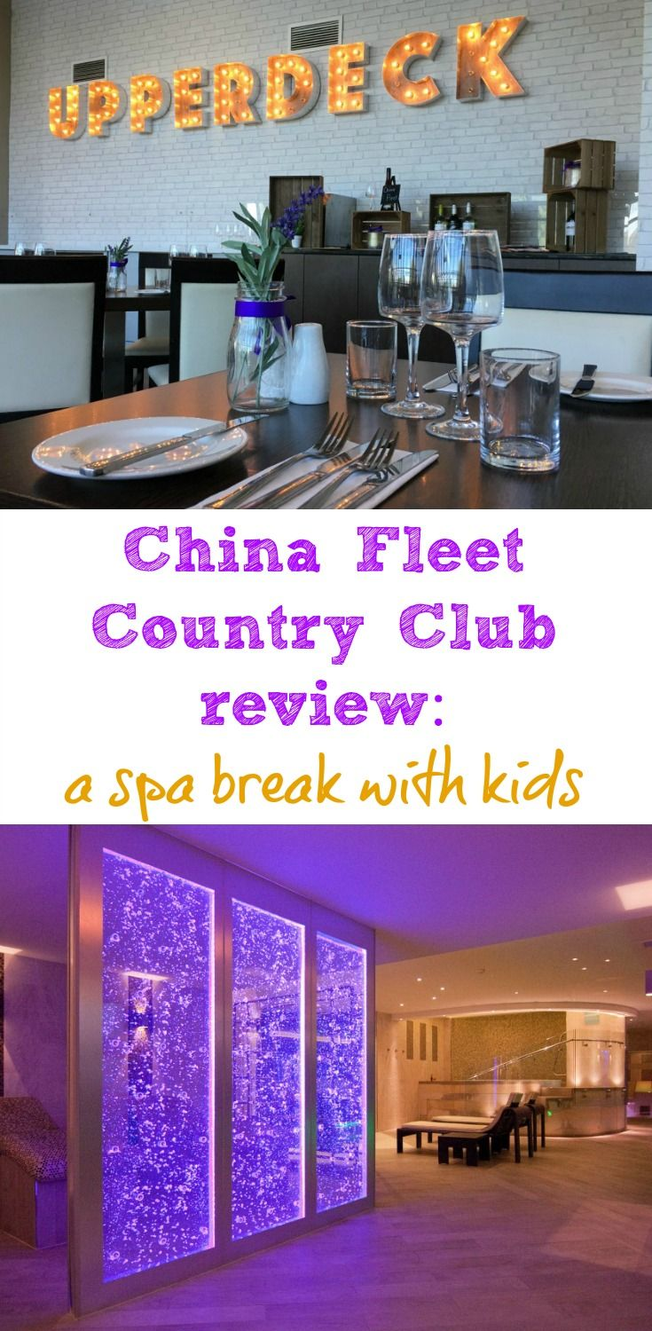 Can you do a spa break with kids? Yes! Here's a review of the China Fleet Country Club - a family-friendly leisure club, hotel and spa in Saltash, Cornwall