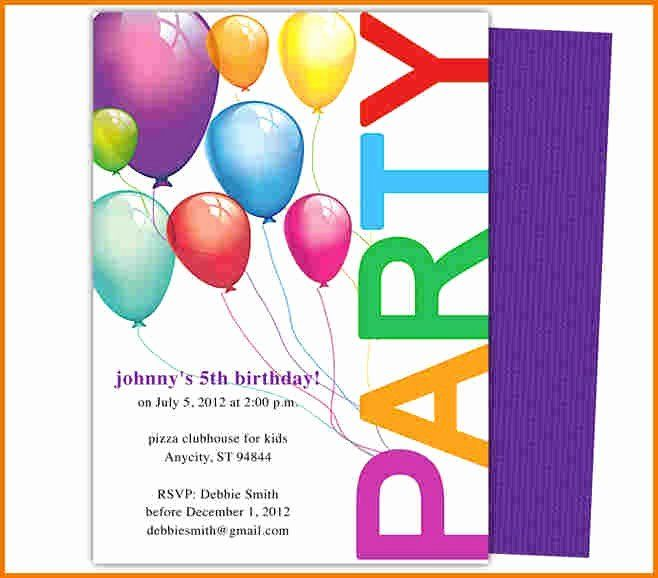 Google Doc Party Invitation Template Beautiful Party Invitations Cards Par Birthday Party Invitations Printable Party Invite Template Birthday Invitations Kids