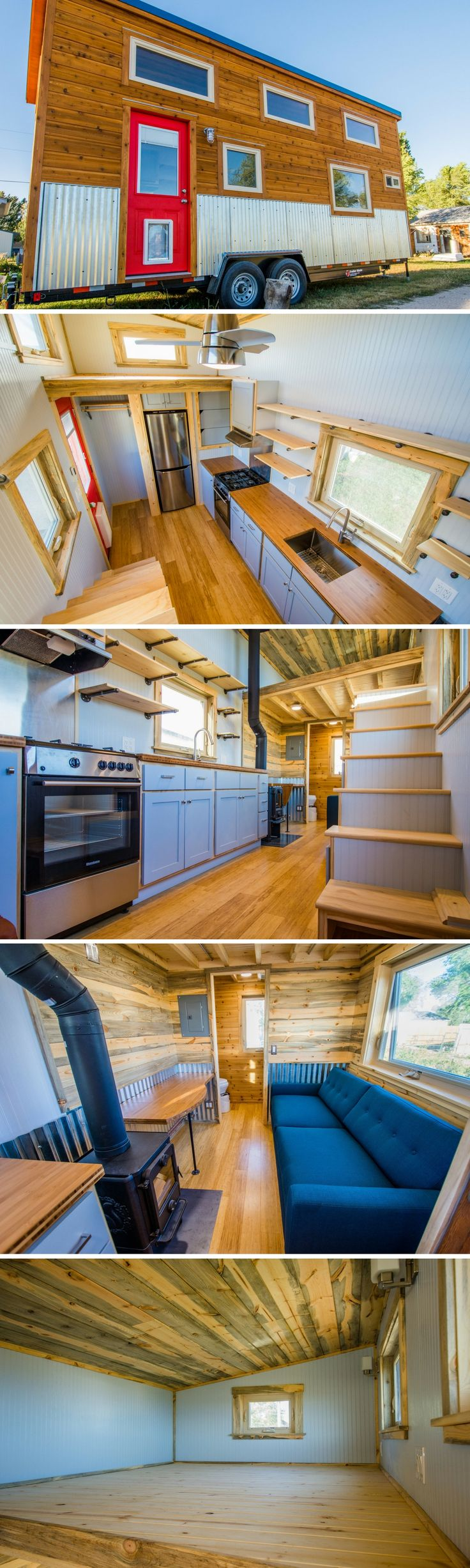 A 192 sq ft tiny house