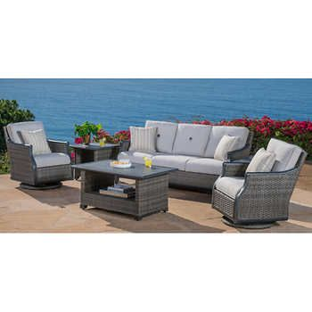 Costco 3000 Lago Brisa 6piece Deep Seating Set  Lanai