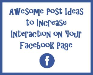 If you want to make sure your Facebook posts are seen consistently, the key is INTERACTION.  Likes. Shares. Comments.  It's not a secret. These things keep your posts in your fans' timelines. Here are some fun ideas to make that happen.   (c) 2016 Elless Publishing, LLC, dba Discover Direct Sales www.discoverdirectsales.us