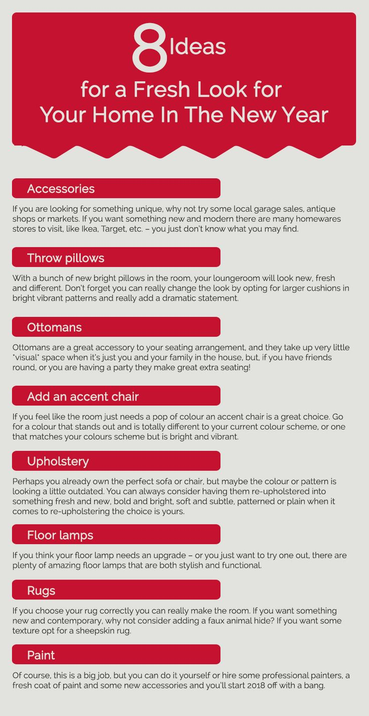The new year is arriving and everyone wants their home to look perfect and give the fresh look. Styling your home is not easy. It can cost more than your budget. So, you can also choose the temporary option which is rental furniture. There are some other ideas you can go for. Visit this infographic for more information.  #homestaging #propertystyling #homedecor #furniturehire