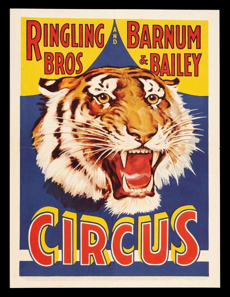 Ringling Bros Poster #retro #poster #circus                                                                                                                                                                                 More