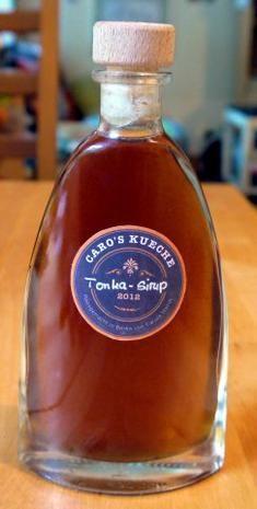 Rezept: Tonka-Sirup