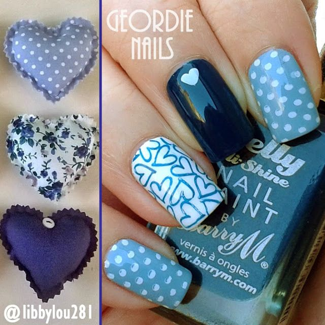 The 290 best Geordie Nails images on Pinterest | Manicure, Manicures ...