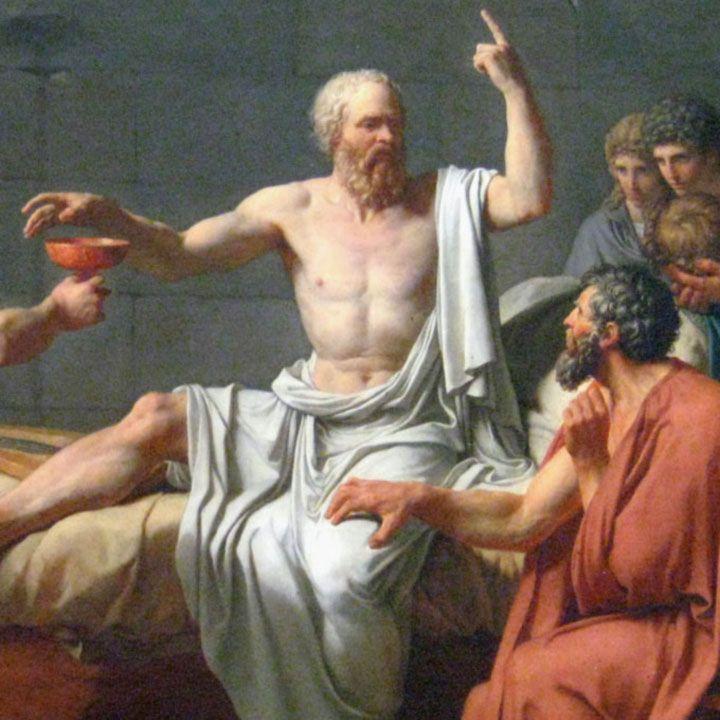 Storia di un uomo che si rivolse a Socrate per parlargli di un'altra persona. Socrate intuendo le sue intenzioni lo interrogò in modo saggio e riflessivo.