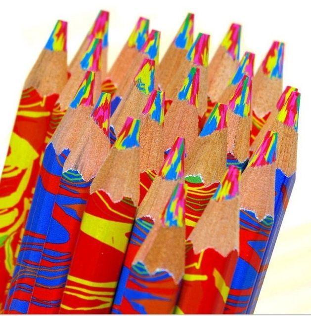 4 in 1 Colori matita arcobaleno 175X7 MM/Fine Art Disegno Matite atossici per la scrittura schizzi Mitsubishi Uni Colorato Set