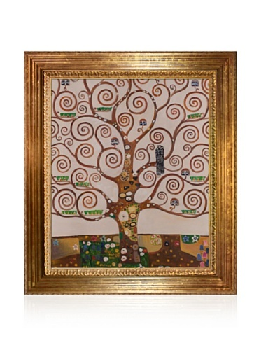 24% OFF Gustav Klimt Tree of Life Painting Framed Oil Painting