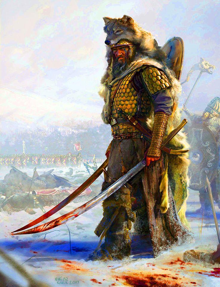 'Getae' Dacians warriors
