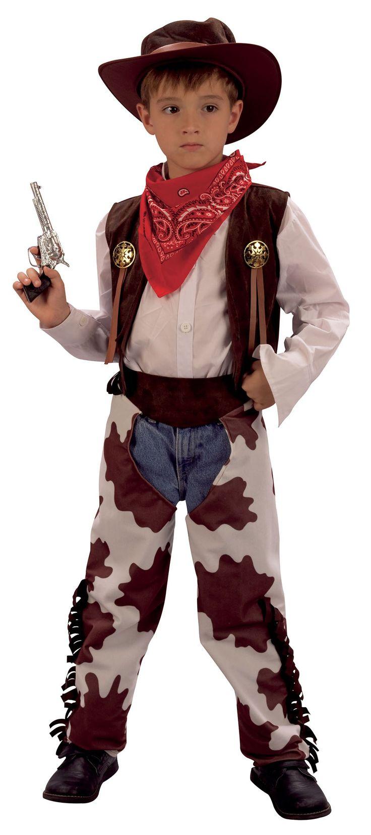 Fastelavn Cowboy kostyme - barn