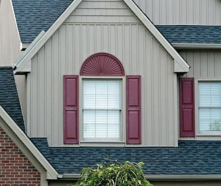 10 best Exterior Vinyl Shutters images on Pinterest | Exterior vinyl ...