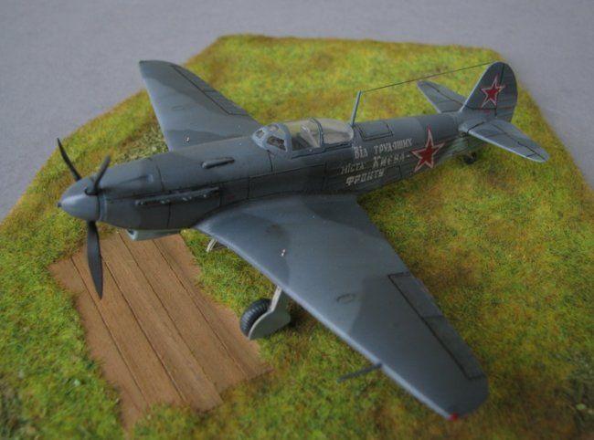 1/72 ICM Yakovlev Yak-9 by Gianni Chirico