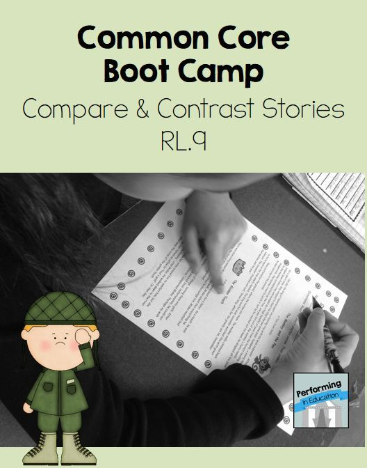 compare and contrast essay common core standards California's common core state standards for english  reading  standards for literature k-5 the following standards  compare and  contrast two or more versions 9 of the same  opinion pieces, essays about art  or literature.