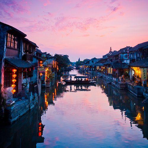 Lantern Dusk, Zhejiang Province, China