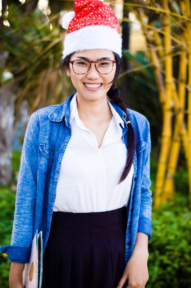 Christmas girl  #Asia #Vietnam  #travel #portrait