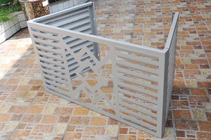 Air Conditioner Cover In Foshan Guangdong Aluminium Building Materials Pinterest Air