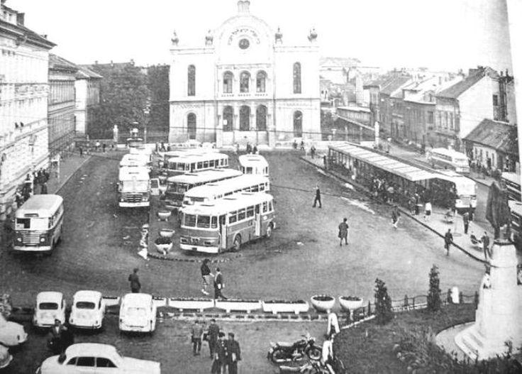 A Kossuth tér átalakulása Pécs 1890-2010 | Anno Pécs közterek szobrok egykor.hu | régi Magyarország akkor és most