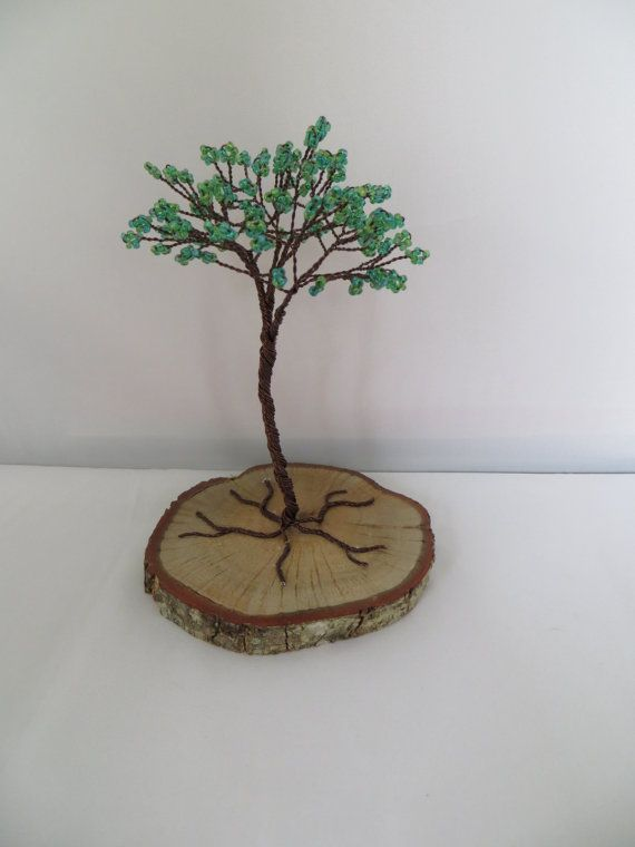 Green Tree Cake Topper Green Tree Of Life by ArtfullyWrapped, $40.00