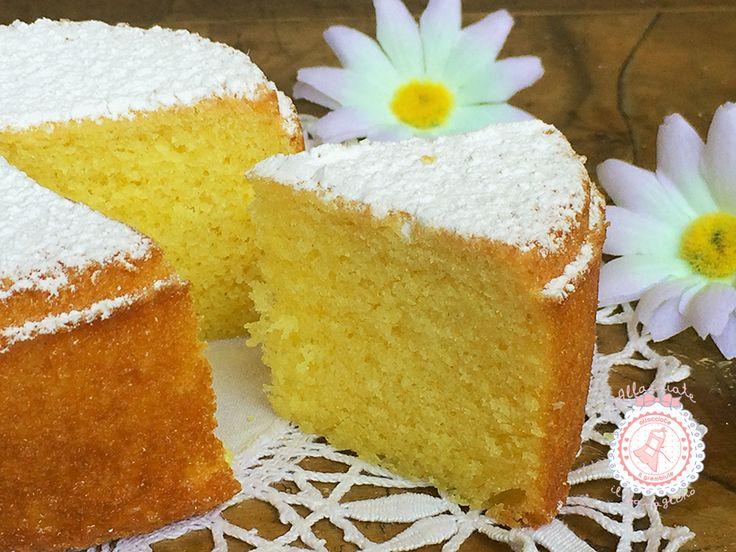 La torta margherita della nonna, la più semplice da preparare la più amata dai bambini e soprattutto dai grandi. per merenda o colazione.