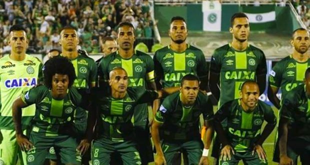 Plane carrying Brazilian football team crashes in Colombia with 76 of 81 on board dead