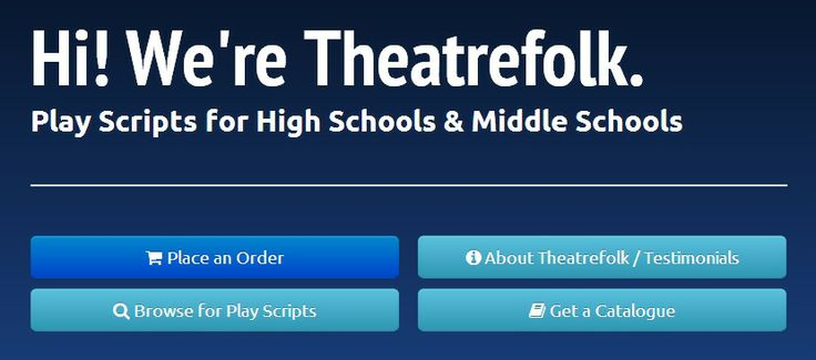 how to write a play script for middle school