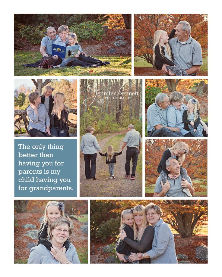 Grandparents Photography Ideas via jbennettphotography.com - Portrait Photography by Jennifer Bennett Photography
