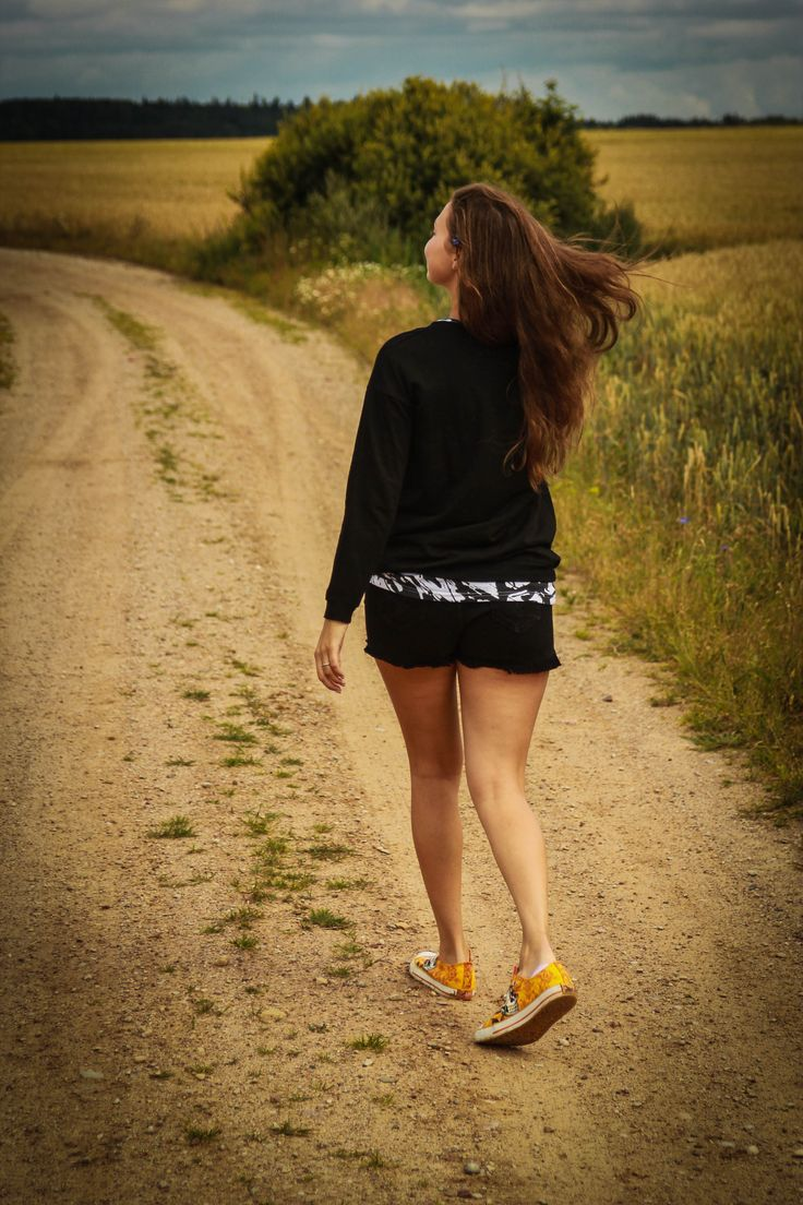 beautiful girl in the summer on the nature