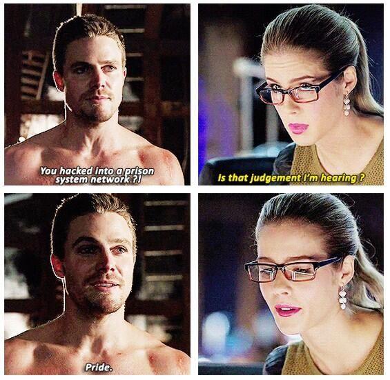 Arrow - Oliver & Felicity #2.12 #Season2 #Olicity