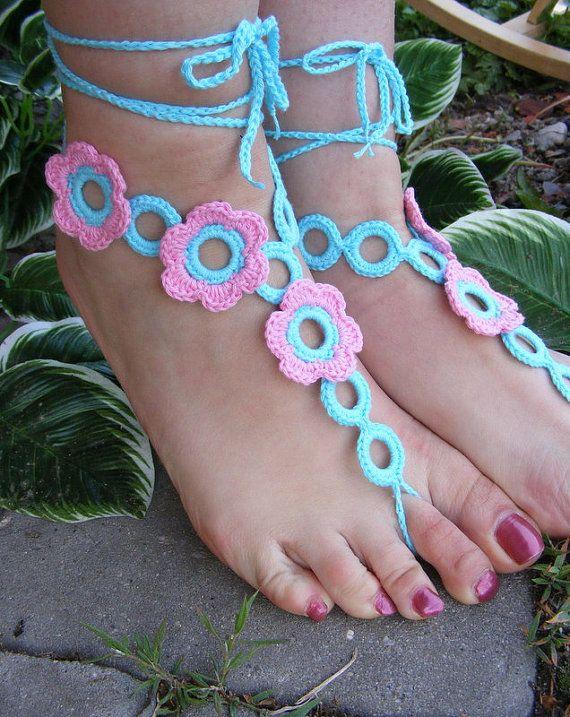 Barefoot sandals схема