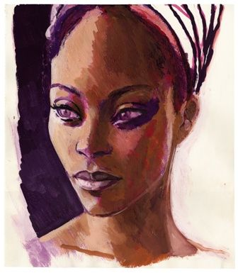 peinture de Titouan Lamazou