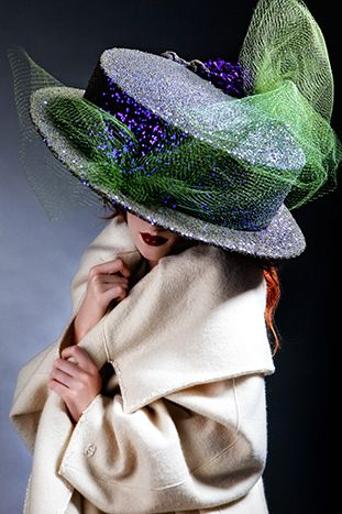 ⍙ Pour la Tête ⍙ hats, couture headpieces and head art - Anya Caliendo - Couture Millinery Atelier