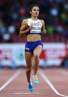 Jodie Williams - 200m, European Athletics Championships (Zürich 2014)