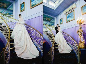 Hochzeitsfotos, Hochzeitskleid